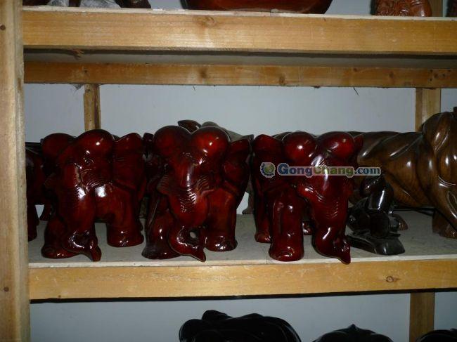 供应(图)木雕批发-木雕大象厂家,东阳木雕,木雕摆件-木雕大象批发