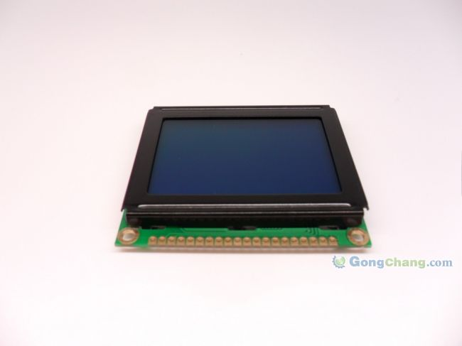 供应供应kny12864i液晶显示器件/模块模组 黄绿/蓝/灰