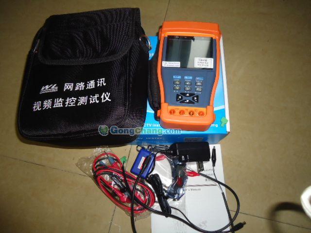 独立的万用表电路板,如果万用表电路损坏,仪表视频测试部份也能正常