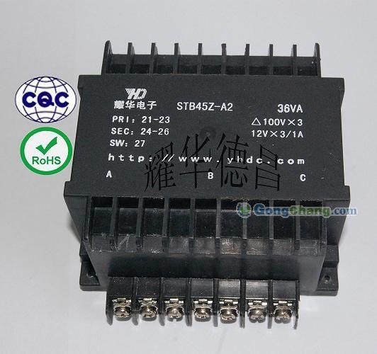 """联系方式 """"供应三相同步变压器""""的详细描述:   特点:外形美观,电路板"""