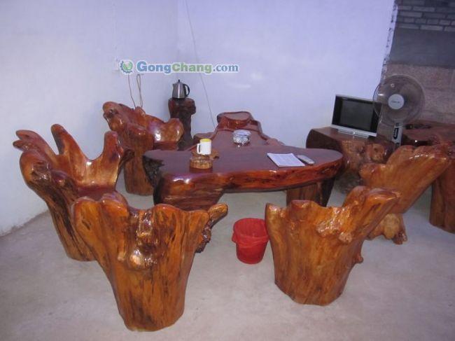 厂家热销根雕茶几 根雕茶台 根雕花架 花梨木制品,性价比高