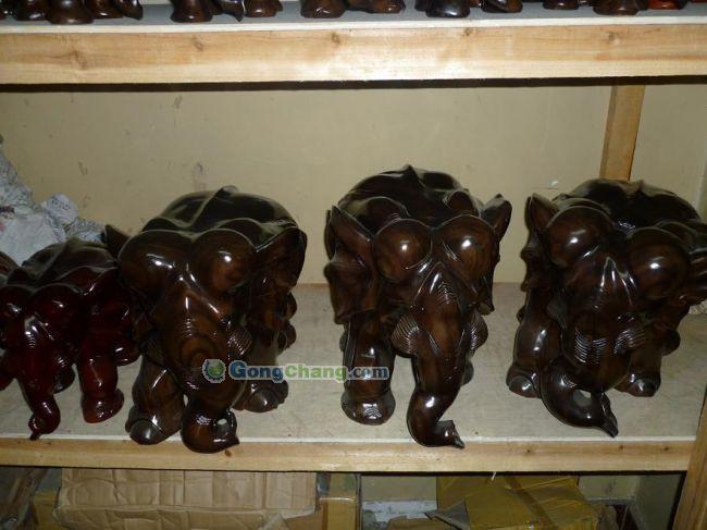 缅甸木雕大象销售,哪里卖云南木雕大象